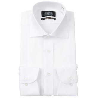 Savile Row【長袖】【NON IRONMAX】【ワイドカラー】白スタンダードワイシャツ2,950 円[税抜]