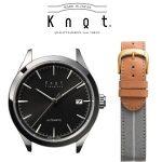 コーディネートする国産腕時計Knot(ノット)