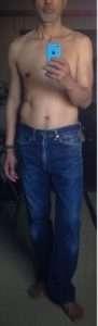 大人のジーンズ