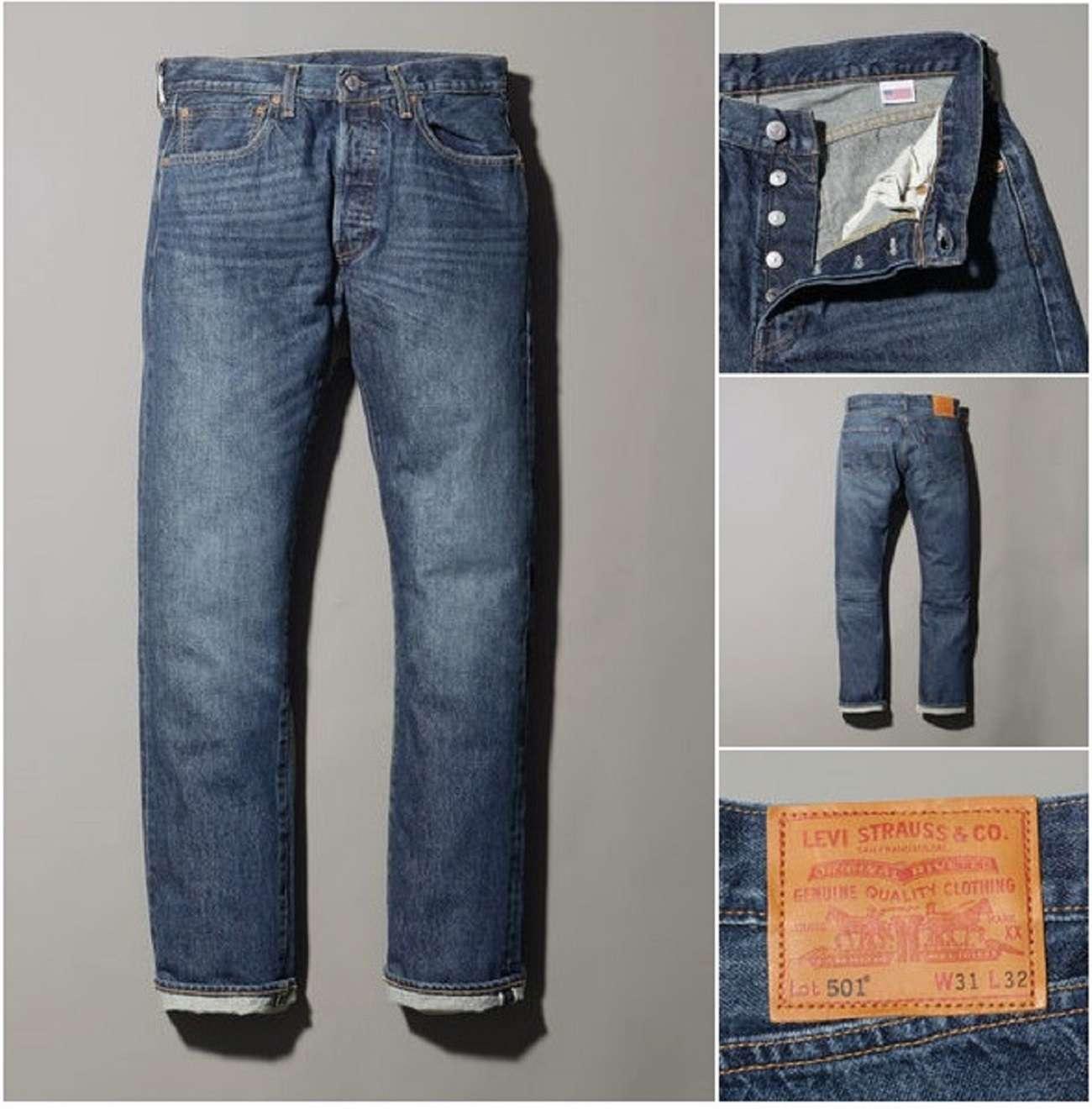 Levis501大人のジーンズ