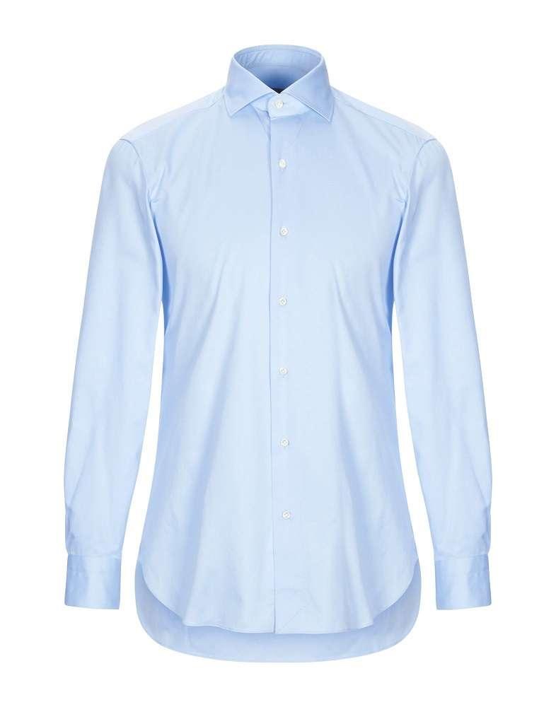 サックスブルーシャツ