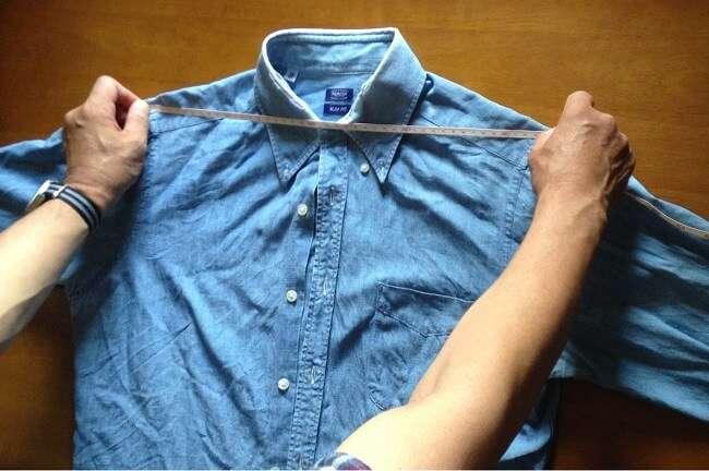 通販で購入するシャツはお気に入りでサイジングするべし