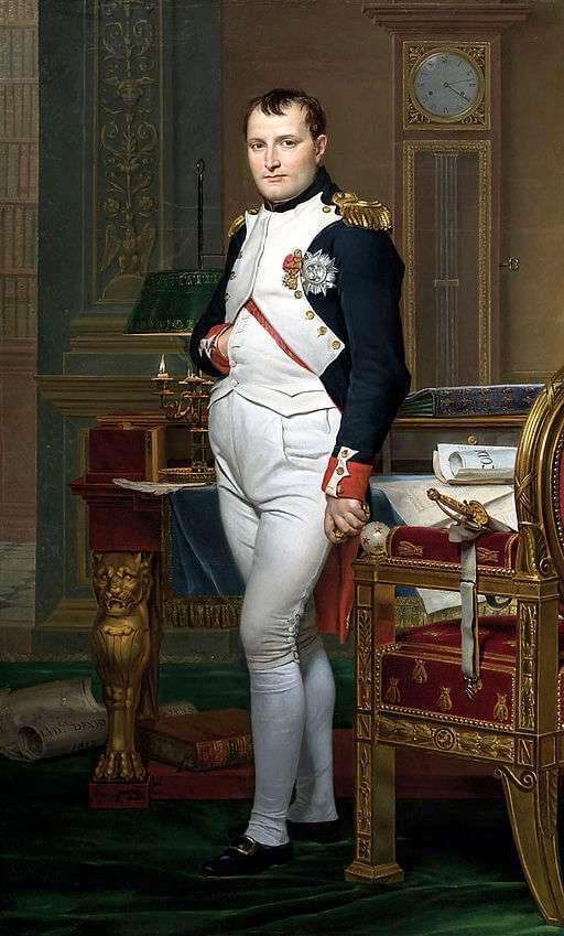 ナポレオン1世肖像画(白のショース着用)