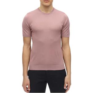 タリアトーレシルクTシャツ(ピンク)