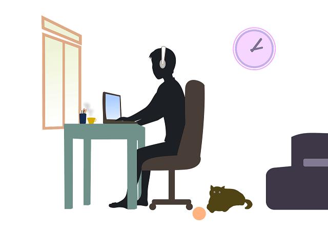 自宅で仕事するのに着る服(リモートワ-ク)