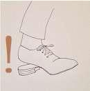 革靴のトラブル